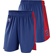 Nike Men's Detroit Pistons Dri-FIT Royal Practice Shorts