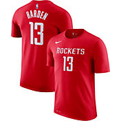 Nike Men's Houston Rockets James Harden #13 Dri-FIT Red T-Shirt