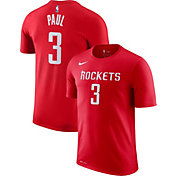 Nike Men's Houston Rockets Chris Paul #3 Dri-FIT Red T-Shirt
