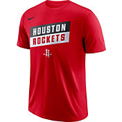 Nike Men's Houston Rockets Dri-FIT Red T-Shirt