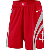 Nike Men's Houston Rockets Dri-FIT Red Swingman Shorts