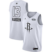 Jordan Men's 2018 NBA All-Star Game James Harden White Dri-FIT Swingman Jersey