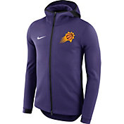 Nike Men's Phoenix Suns On-Court Purple Dri-FIT Showtime Full-Zip Hoodie