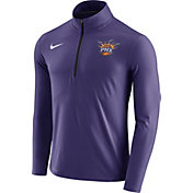 Nike Men's Phoenix Suns Dri-FIT Purple Element Half-Zip Pullover