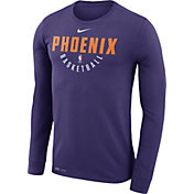 Nike Men's Phoenix Suns Dri-FIT Purple Practice Long Sleeve Shirt
