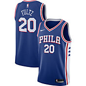 Nike Men's Philadelphia 76ers Markelle Fultz #20 Royal Dri-FIT Swingman Jersey
