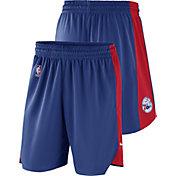 Nike Men's Philadelphia 76ers Dri-FIT Royal Practice Shorts