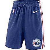 Nike Men's Philadelphia 76ers Dri-FIT Royal Swingman Shorts