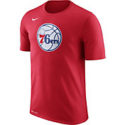 Nike Men's Philadelphia 76ers Dri-FIT Red Logo T-Shirt