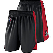 Nike Men's Portland Trail Blazers Dri-FIT Black Practice Shorts