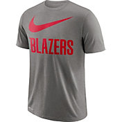 Nike Men's Portland Trail Blazers Dri-FIT Legend Grey T-Shirt