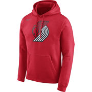 Nike Men's Portland Trail Blazers Club Red Pullover Hoodie