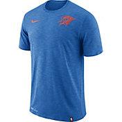 Nike Men's Oklahoma City Thunder Dri-FIT Facility Blue T-Shirt