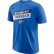 Nike Men's Oklahoma City Thunder Dri-FIT Blue T-Shirt