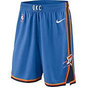 Nike Men's Oklahoma City Thunder Dri-FIT Blue Swingman Shorts