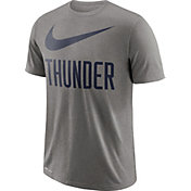 Nike Men's Oklahoma City Thunder Dri-FIT Legend Grey T-Shirt
