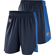 Nike Men's Oklahoma City Thunder Dri-FIT Navy Practice Shorts