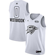 Jordan Men's 2018 NBA All-Star Game Russell Westbrook White Dri-FIT Swingman Jersey