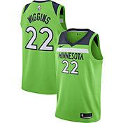 Nike Men's Minnesota Timberwolves Andrew Wiggins #22 Green Statement Dri-FIT Swingman Jersey