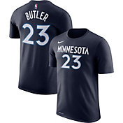Nike Men's Minnesota Timberwolves Jimmy Butler #23 Dri-FIT Navy T-Shirt