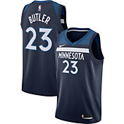 Nike Men's Minnesota Timberwolves Jimmy Butler #23 Navy Dri-FIT Swingman Jersey
