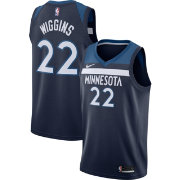 Nike Men's Minnesota Timberwolves Andrew Wiggins #22 Navy Dri-FIT Swingman Jersey