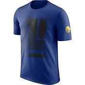 Nike Men's Golden State Warriors Dri-FIT Royal T-Shirt