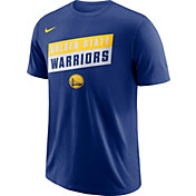Nike Men's Golden State Warriors Dri-FIT Royal T-Shirt