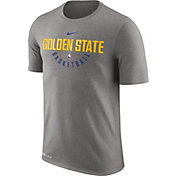Nike Men's Golden State Warriors Dri-FIT Grey Practice T-Shirt