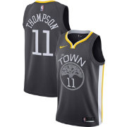 Nike Men's Golden State Warriors Klay Thompson #11 Grey Statement Dri-FIT Swingman Jersey