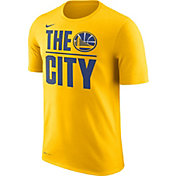 Nike Men's Golden State Warriors Dri-FIT The City Gold T-Shirt