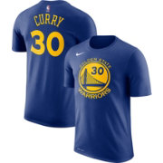 Nike Men's Golden State Warriors Stephen Curry #30 Dri-FIT Royal T-Shirt