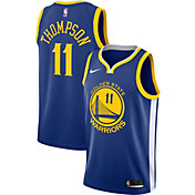 Nike Men's Golden State Warriors Klay Thompson #11 Royal Dri-FIT Swingman Jersey