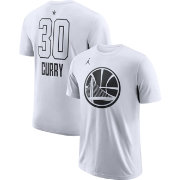 Jordan Men's 2018 NBA All-Star Game Stephen Curry Dri-FIT White T-Shirt