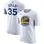 Nike Men's Golden State Warriors Kevin Durant #35 Dri-FIT White T-Shirt