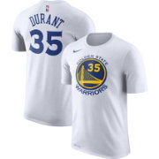 Nike Men's Golden State Warriors Kevin Durant #35 Dri-FIT White T-Shirt