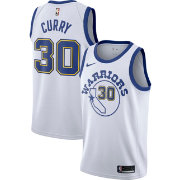Nike Men's Golden State Warriors Stephen Curry #30 White Hardwood Classic Dri-FIT Swingman Jersey