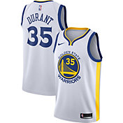 Nike Men's Golden State Warriors Kevin Durant #35 White Dri-FIT Swingman Jersey