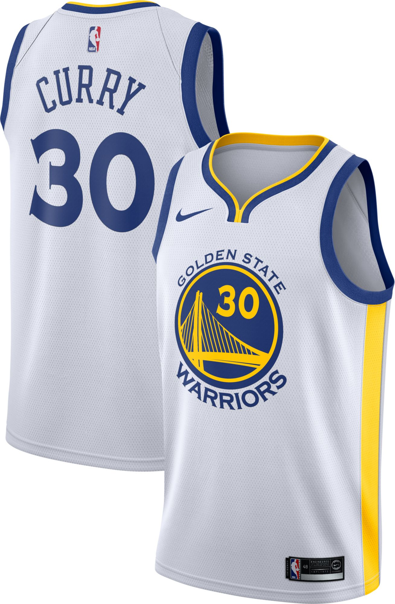 golden state warriors 30 stephen curry white womens jersey