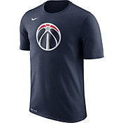 Nike Men's Washington Wizards Dri-FIT Navy Logo T-Shirt