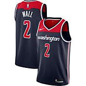 Nike Men's Washington Wizards John Wall #2 Navy Statement Dri-FIT Swingman Jersey