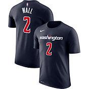 Nike Men's Washington Wizards John Wall #2 Dri-FIT Navy T-Shirt