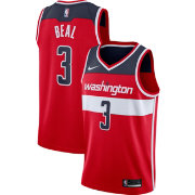 Nike Men's Washington Wizards Bradley Beal #3 Red Dri-FIT Swingman Jersey