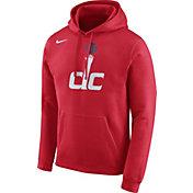 Nike Men's Washington Wizards Club Red Pullover Hoodie