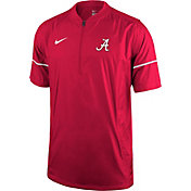 Nike Men's Alabama Crimson Tide Crimson Football Sideline Hot Jacket
