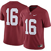 Nike Men's Alabama Crimson Tide #16 Crimson Limited Football Jersey