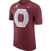 Nike Men's Alabama Crimson Tide Crimson Local Imagery Football Stadium T-Shirt
