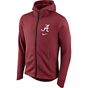 Nike Men's Alabama Crimson Tide Crimson Therma-FIT Full-Zip Elite Basketball Hoodie