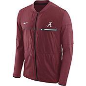 Nike Men's Alabama Crimson Tide Crimson Elite Hybrid Football Full-Zip Jacket