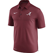 Nike Men's Alabama Crimson Tide Crimson Elite Football Sideline Polo